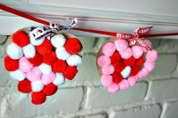 pom-pom-heart-garlands