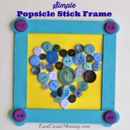 popsicle stick frame